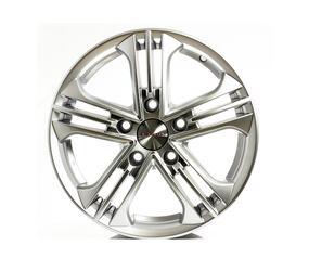 Автомобильный диск литой K&K Trinity 6x15 5/108 ET 43 DIA 67,1 Блэк платинум