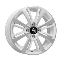 Автомобильный диск литой K&K Беринг 5,5x14 4/98 ET 35 DIA 58,5 Алмаз вайт