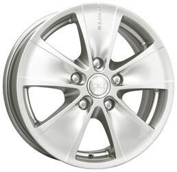 Автомобильный диск Литой K&K Иллюзио 6x15 5/108 ET 52,5 DIA 63,35 Алмаз вайт