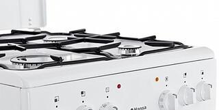 Газовая плита Hansa FCMW57003030 белый, черный