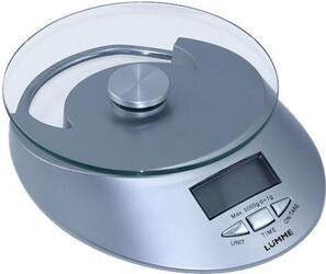Кухонные весы Lumme LU-1320 серебристый