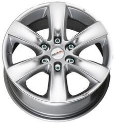 Автомобильный диск литой MAK Sierra 7x16 6/139,7 ET 46 DIA 67,1 Hyper Silver