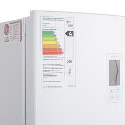 Холодильник с морозильником LG GA-B409SVQA белый