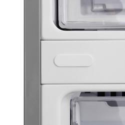 Холодильник с морозильником LG GA-B489ZVSP серебристый