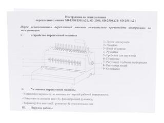 Брошюровщик Rayson SD-1501A21