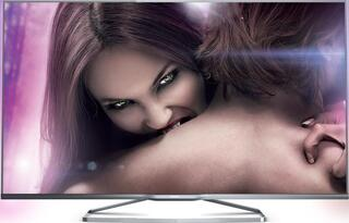 """58"""" (147 см)  LED-телевизор Philips 58PUS6809 серебристый"""