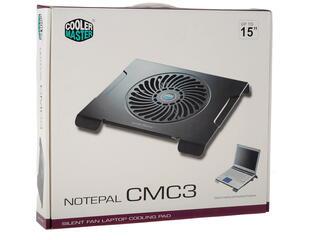 Подставка для ноутбука CoolerMaster NotePal CMC3 черный