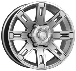 Автомобильный диск  K&K Полюс 7,5x16 6/139,7 ET 30 DIA 100,1 Блэк платинум