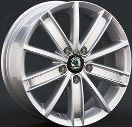 Автомобильный диск литой Replay SK15 7x17 5/105 ET 45 DIA 54,1 Sil
