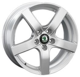 Автомобильный диск литой Replay SK19 6x15 5/100 ET 35 DIA 60,1 Sil