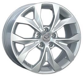 Автомобильный диск литой Replay MZ47 7,5x18 5/114,3 ET 50 DIA 67,1 Sil