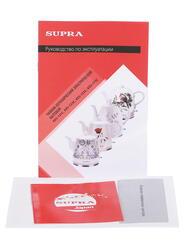 Электрочайник Supra KES-125C белый
