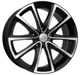 Автомобильный диск  K&K Сансара 8,5x18 5/114,3 ET 45 DIA 67,1 Алмаз черный