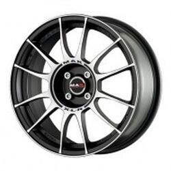 Автомобильный диск Литой MAK XLR 7x16 4/114,3 ET 40 DIA 76 Ice Black