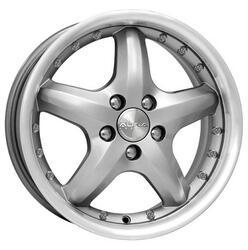 Автомобильный диск Литой K&K Ермак 6,5x15 4/100 ET 40 DIA 67,1 Алмаз блэк платинум