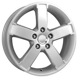 Автомобильный диск Литой K&K КС398 6x15 5/108 ET 52,5 DIA 63,3 Алмаз сильвер