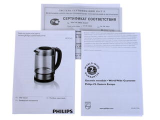 Электрочайник Philips HD 9342 серебристый