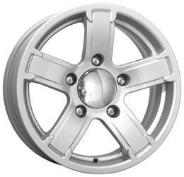 Автомобильный диск Литой K&K Ангара 6,5x15 5/139,7 ET 40 DIA 95,3 Блэк платинум
