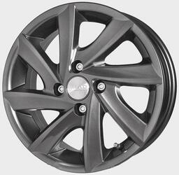 Автомобильный диск Литой Скад Тайфун 5,5x14 4/100 ET 35 DIA 67,1 Гальвано