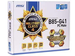 Материнская плата MSI B85-G41 PC MATE