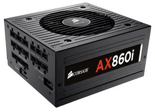 БП Corsair AX860i 860W (80+ Platinum, ATX12V 2.3 / EPS12V, Active PFC, 140mm Fan, Ret.)