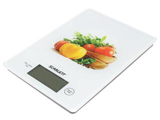 Кухонные весы Scarlett SC-1217 белый
