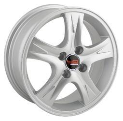 Автомобильный диск Литой LegeArtis RN51 6x15 4/100 ET 43 DIA 60,1 Sil