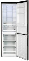 Холодильник с морозильником Haier C2FE636CBJ черный
