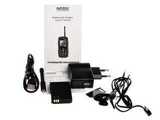 Сотовый телефон Ginzzu R6 Dual черный/оранжевый
