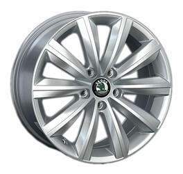 Автомобильный диск литой Replay SK34 7,5x17 5/120 ET 55 DIA 63,3 Sil