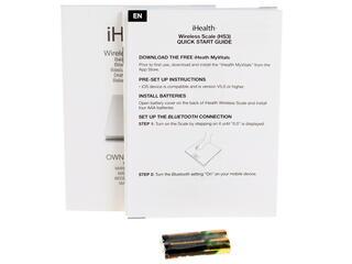Весы iHealth HS3