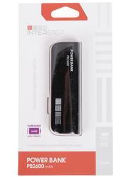 Портативный аккумулятор InterStep IS-AK-PB2600UBR-000B201 красный, черный