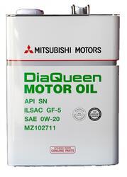 Моторное масло MMC (Orig.Japan) DQ 0W20 MZ102711