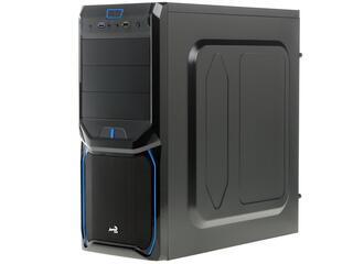 Корпус AeroCool V3X Advance Blue Edition черный