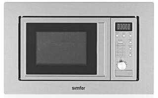 Встраиваемая микроволновая печь Simfer M2300 серебристый