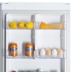 Холодильник с морозильником LG GA-B379SVCA белый