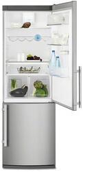 Холодильник с морозильником Electrolux EN3614AOX серебристый