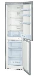 Холодильник с морозильником BOSCH KGN39NL10 серебристый