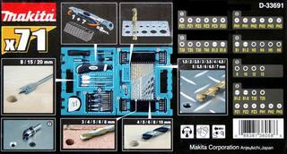 Универсальный набор Makita D-33691