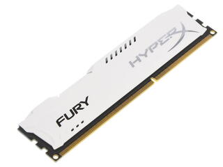 Оперативная память Kingston HyperX FURY White Series [HX318C10FW/4] 4 ГБ