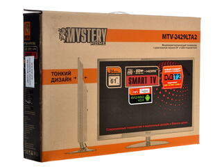 "24"" (60 см)  LED-телевизор Mystery MTV-2429LTA2 белый"