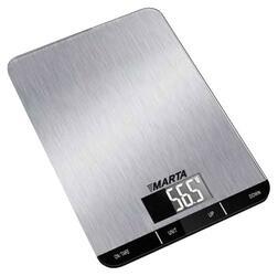 Кухонные весы Marta MT-1627 серебристый