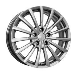 Автомобильный диск литой K&K Акцент 7x17 5/114,3 ET 38 DIA 71,6 Блэк платинум
