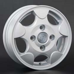 Автомобильный диск литой Replay DW2 5x13 4/114,3 ET 53 DIA 69,1 Sil