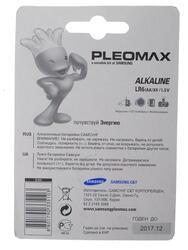 Батарейка Samsung Pleomax LR6-4BL