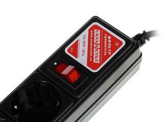 Сетевой фильтр Power Cube SPG-B6 черный
