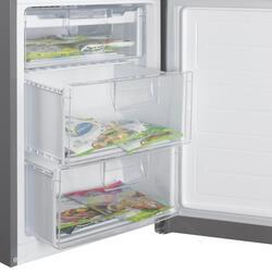 Холодильник с морозильником LG GA-B489YMQZ серый