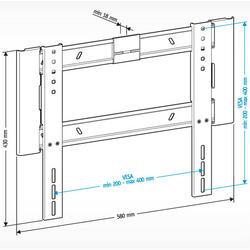 Кронштейн для телевизора Holder LCD-F4607-B