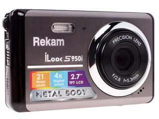 Компактная камера Rekam iLook S950i серый