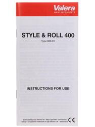 Фен-щетка Valera 606.01/Style and Roll 400 красный